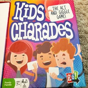 Kids Charades The Act and Giggle Game